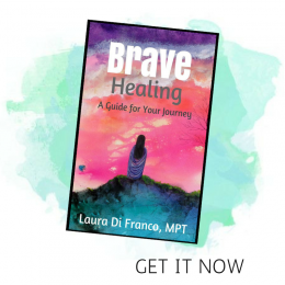 A picture of Laura's book, Brave Healing a Guide for Your Journey